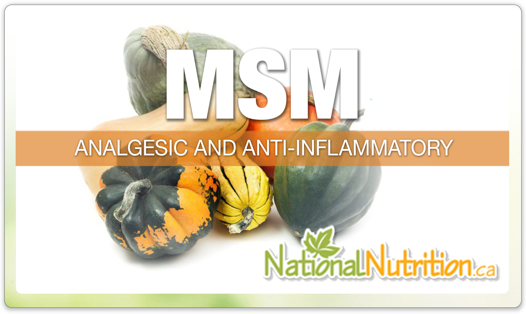 Msm - National Nutrition Articles