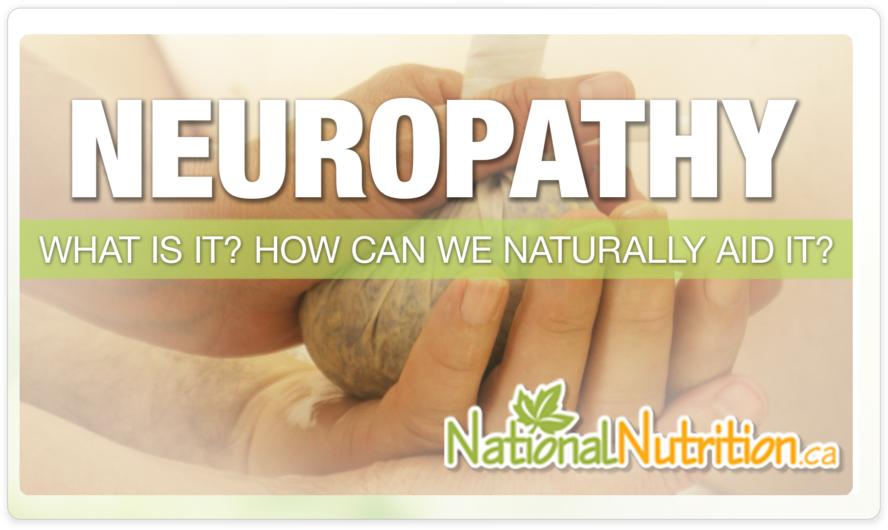 Neuropathy - National Nutrition Articles