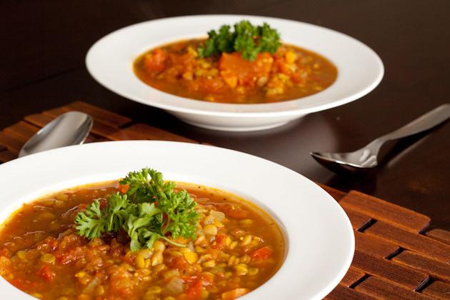 Easy Curried Lentil Soup 2